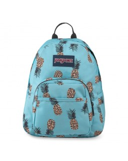 JanSport Half Pint Mini Backpack Leopard Pineapples