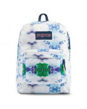 JanSport Superbreak Backpack Flamingo Garden