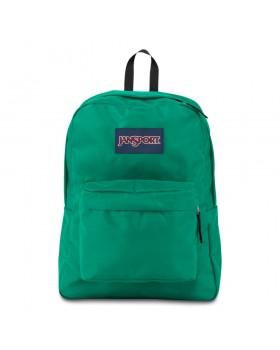 JanSport Superbreak Backpack Varsity Green