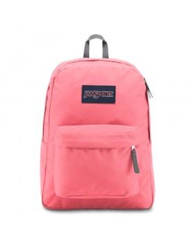 JanSport Superbreak Backpack Strawberry Pink