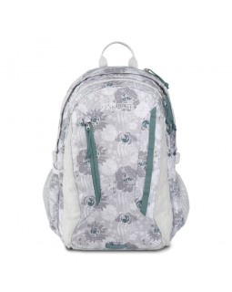 JanSport Women's Agave Backpak Sleet Silver Vines
