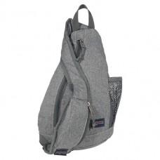 JanSport Soho Sling Bag Grey Letterman Poly