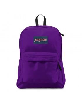 JanSport Superbreak Backpack Signature Purple