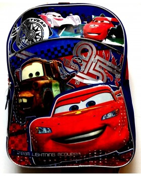 "Disney Pixar Cars School Backpack 15"" Full Size"