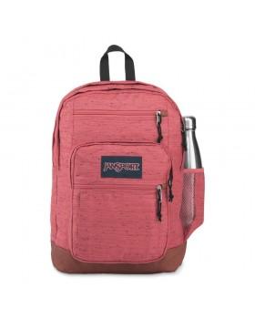 JanSport Cool Student Backpack Slate Rose Plain Weave