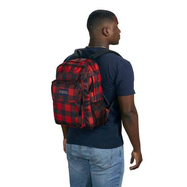 JanSport Union Pack Backpack Flannel
