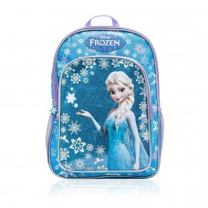 "Disney Frozen Elsa and Glittery Snowflakes School Backpack 16"" Full Size"
