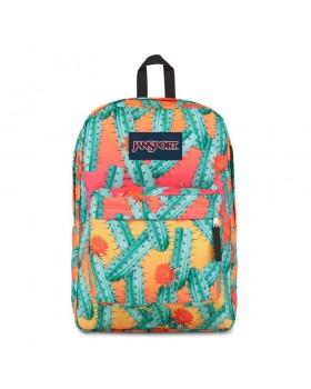 JanSport Superbreak Backpack Cactus Flowers