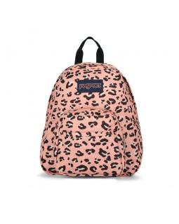 JanSport Half Pint Mini Backpack Pink Party Cat
