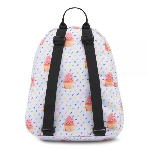JanSport Half Pint Mini Backpack Cupcakes