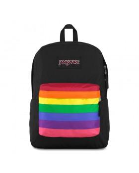 JanSport High Stakes Backpack Rainbow Dreams
