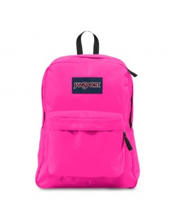JanSport Superbreak Backpack Ultra Pink