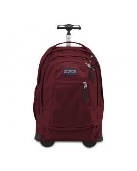 JanSport Driver 8 Rolling Backpack Viking Red