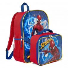Marvel Spiderman Backpack with Lunch Bag