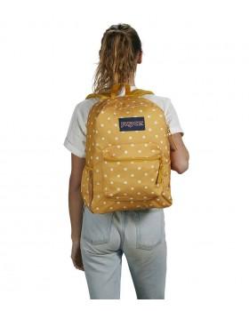 JanSport Cross Town Backpack Ditzy Dot