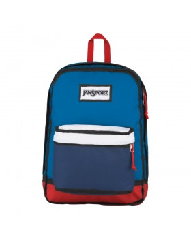 JanSport High Stakes Backpack Red/White/Blue