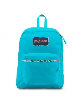 JanSport High Stakes Backpack Mammoth Blue/Multi Stickers