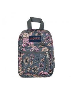JanSport Lunch Bag Big Break Boho Floral Graphite Grey