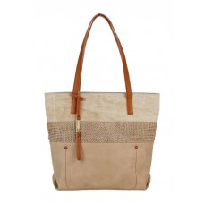 KGB Shoulder Handbag Sheila Naturel
