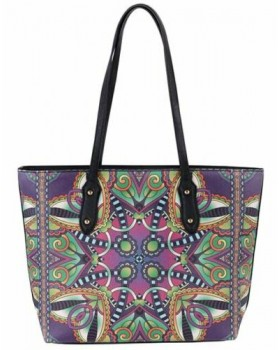 David Jones Paris Shoulder Handbag Multi Color
