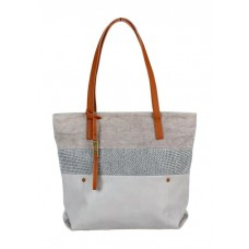 KGB Shoulder Handbag Sheila Light Grey