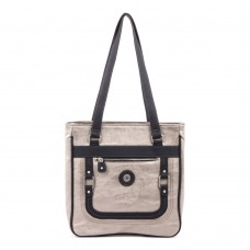 Mouflon Generation Large Tote Bag Pewter / Black