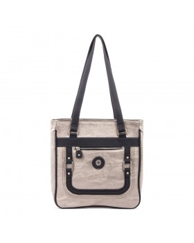 Mouflon Generation Large Tote Bag Pewter / Black