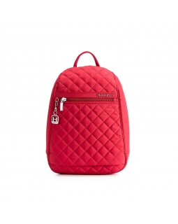 Hedgren Backpack Bag Diamond Touch Pat 598 New Bull Red
