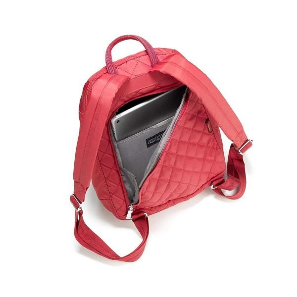 Hedgren Backpack Bag Diamond Touch Pat 598 New Bull Red