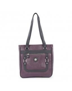 Mouflon Generation Large Tote Bag Wine / Black