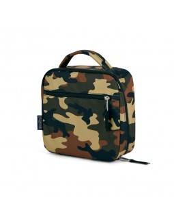 JanSport Lunch Break Box Bag Buckshot Camo