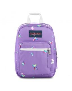 JanSport Lunch Bag Big Break Purple Dawn Butterfly Kisses