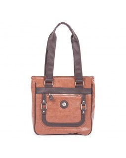 Mouflon Generation Large Tote Bag Smoke Brown / Brown