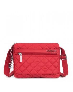 Hedgren Shoulder Bag Diamond Touch Carina New Bull Red