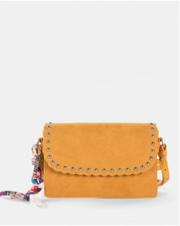 Joanel Pixie Flap Crossbody Bag Yellow