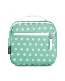 JanSport Lunch Break Box Bag Cascade Polka Dot