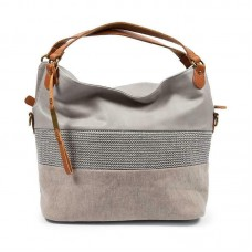 KGB Shoulder Handbag Alisia Convertable Crossbody Grey Multi