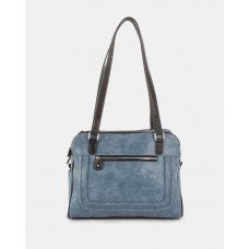 Joanel Barbara Tote Bag Denim / Black