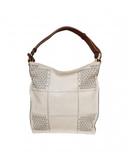 KGB Alise Hobo Handbag Convertable Crossbody Beige