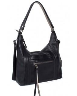 KGB Studio Backpack Convertible to Handbag Fashion Day Black