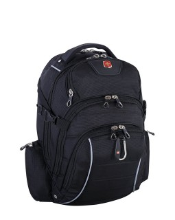Swiss Gear Rainproof Backpack Fits 15.6 to 17.3-inch Laptop