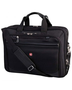 """Swiss Gear 13"""" to 17"""" Flex-Fit Laptop System Deluxe Laptop Case"""