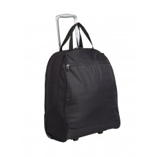 "Rosetti 17"" Wheeled Tote Bag Shopper Black"