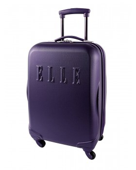 "ELLE 20"" Carry-On Luggage Purple"