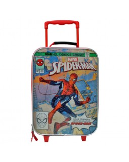 "Marvel Spiderman Rolling 18"" Softside Carry On Junior Suitcase"