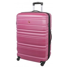 """Swiss Gear 28"""" Spinner Expandable Luggage Migration Magenta"""