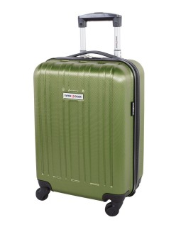 "Swiss Gear 20"" Spinner Carry-On Luggage Travelite Green"