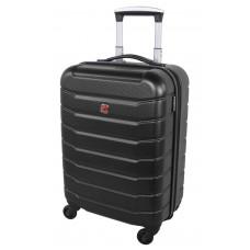 "Swiss Gear 20"" Spinner Carry-On Luggage Vaiana Black"