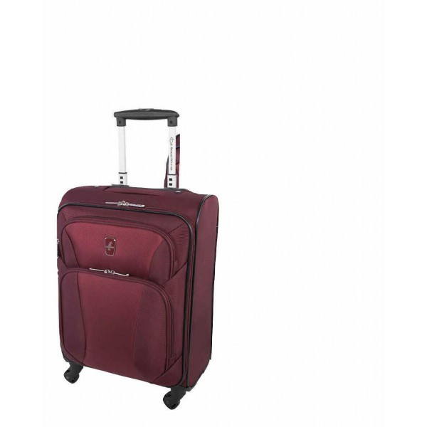 "Atlantic Medallion 20"" Spinner Luggage Burgundy"