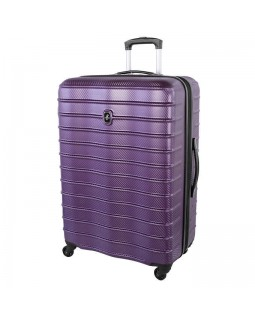 "Atlantic Destination II 28"" Spinner Expandable Luggage Purple"
